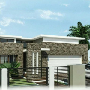 Two Story Contemporary House