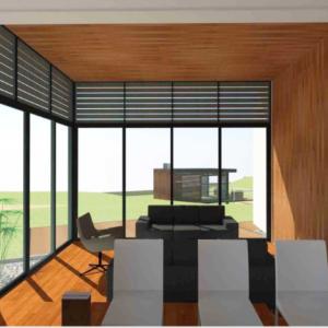 Ultra Modern Office House